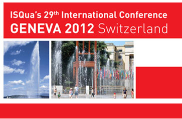 ISQua's 29th International Conference Geneva 2012 Switzerland