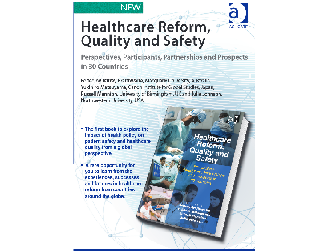 New Book on Healthcare Reform, Quality and Safety launched