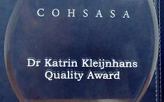 COHSASA introduces new Quality Award