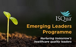 Apply for ISQua's emerging leader programme!