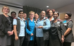 Clinical Management of Mediclinic Morningside receives Quality Award