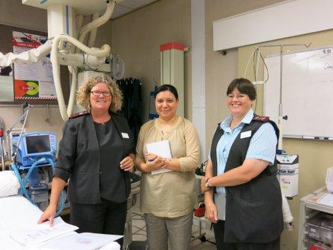 Tunisian doctor visits COHSASA
