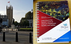 Experiencing the ISQua conference: a delegate's view of London 2017