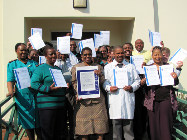 Tokollo Hospital in the Free State celebrates second accreditation