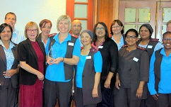 Infection Prevention and Control Management of Mediclinic Cape Town receives Quality Award