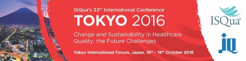 Tokyo for ISQua 2016