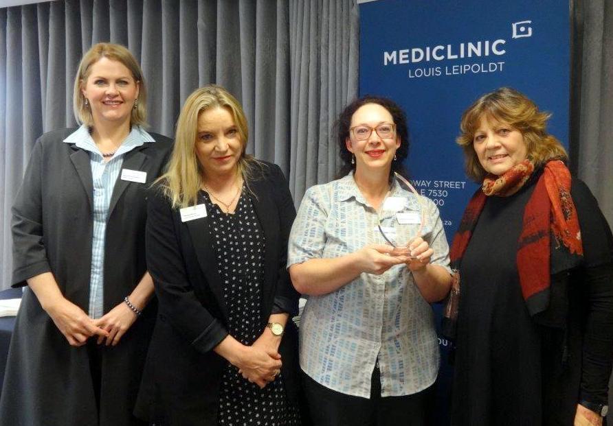Louis Leipoldt Hospital receives quality award