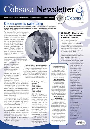 COHSASA News Bulletin, May/ June 2005